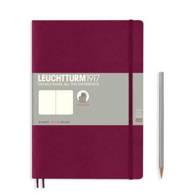 Leuchtturm-b5-port-red-notebook