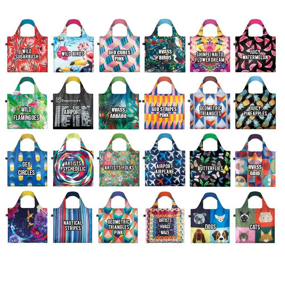 Loqi shopping bags