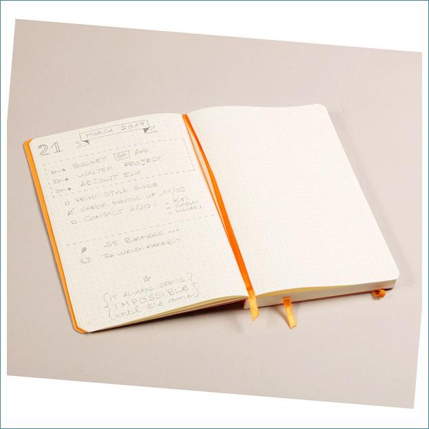 Rhodia A5 goalbook