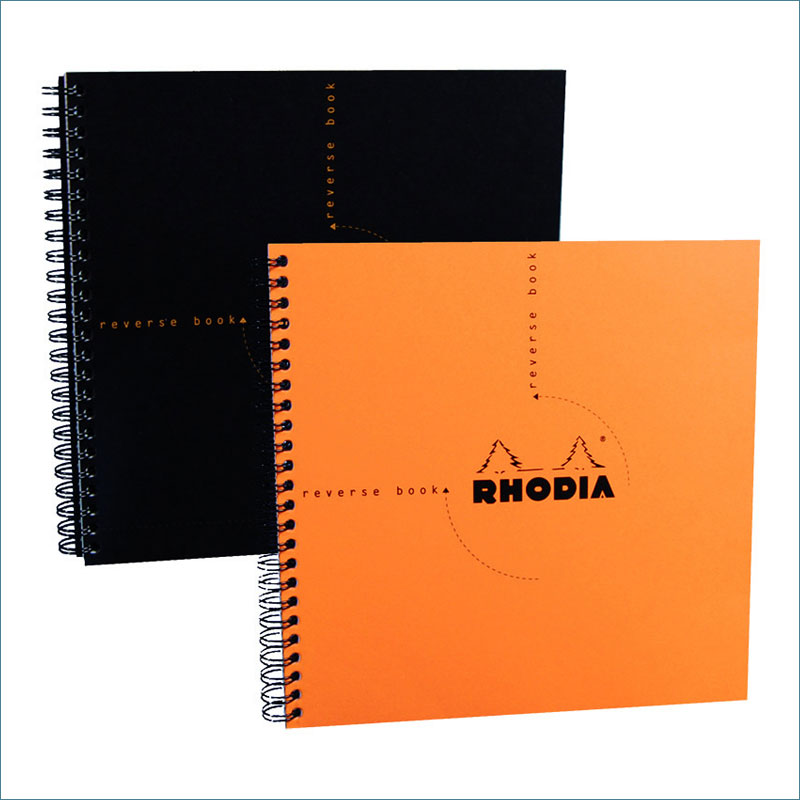 Rhodia wirebound square notebook