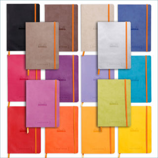 Rhodia A5 goalbook colours