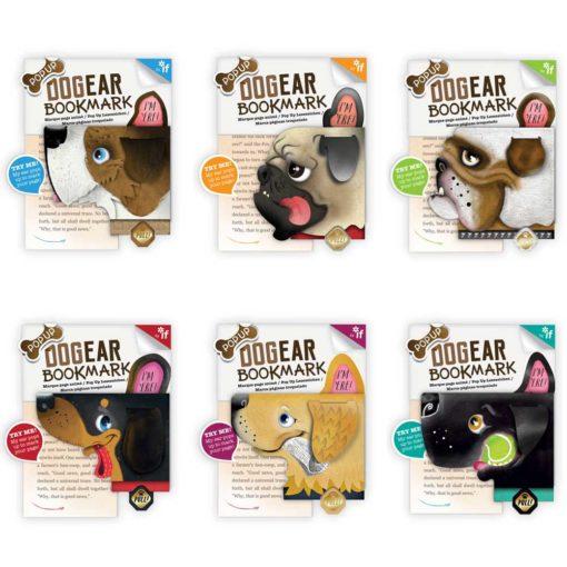 pop-up dog ear bookmark