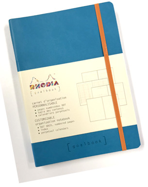 Rhodiarama A5-goalbook