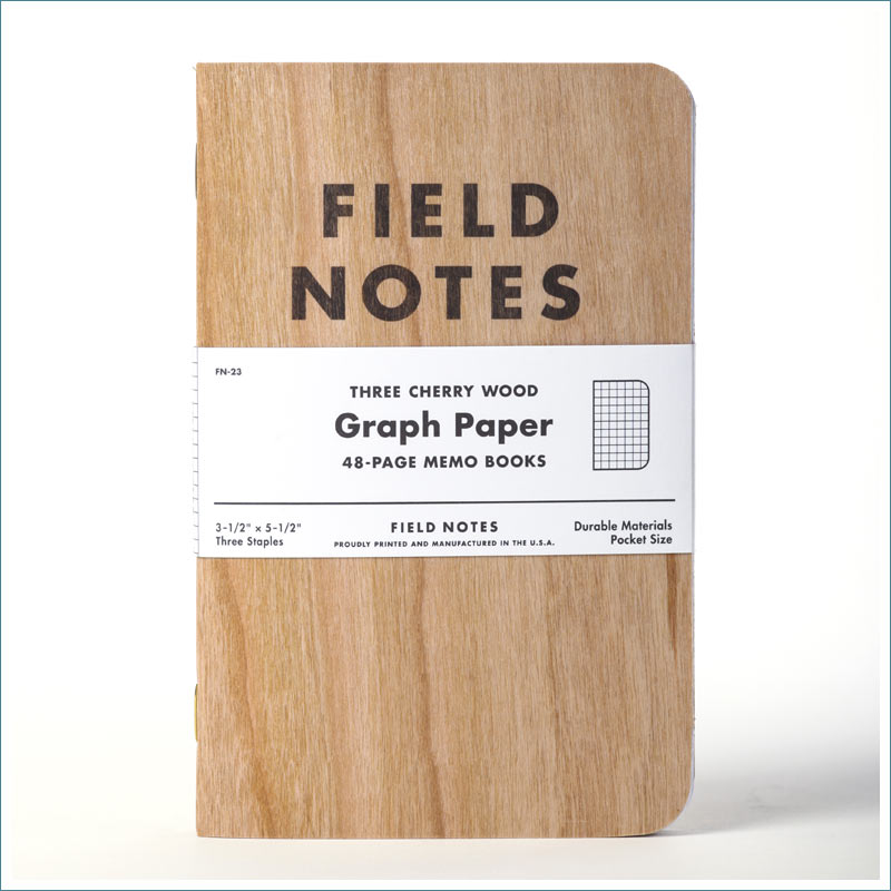 Field Notes Cherry Graph FN-23
