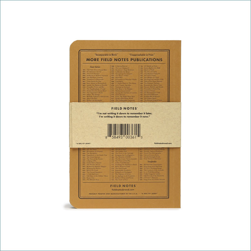 Field Notes Dime Novel FNC-36