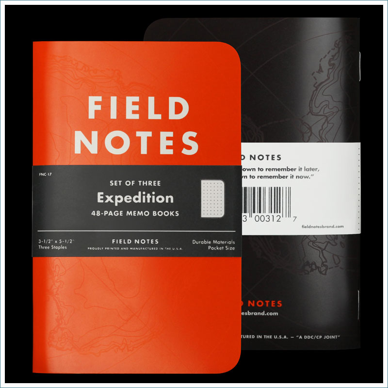 Field Notes Expedition FNC-17