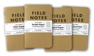 Field Notes Original Kraft Memo Books