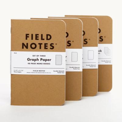 Field Notes Kraft Memo Books