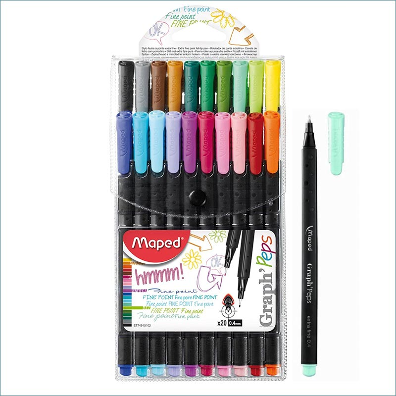 maped peps graph fineliner 20