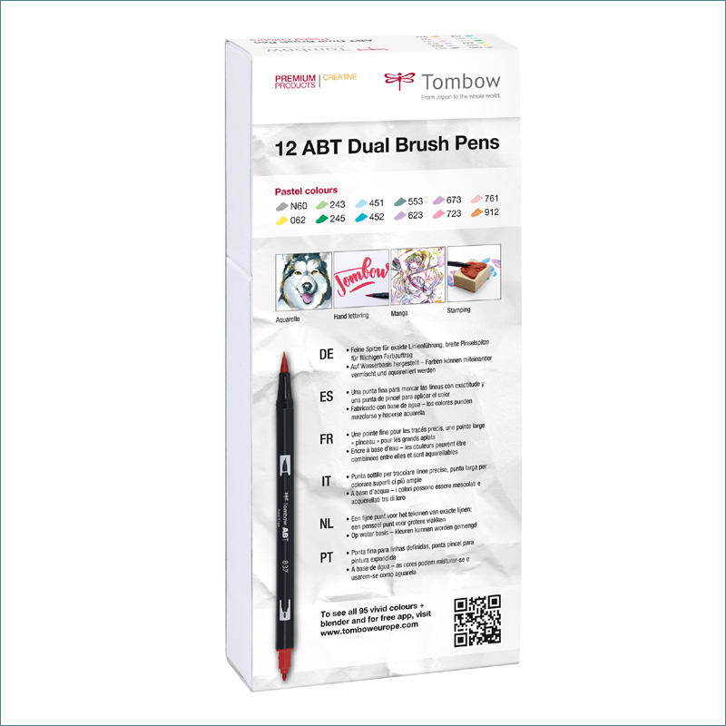 tombow pastel-dual-12-pack
