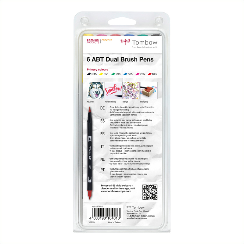 tombow primary dual brush