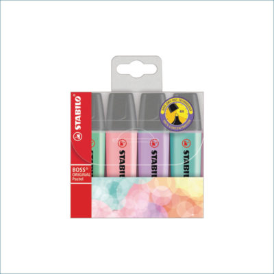 stabilo boss pastel highlighters 4 pack