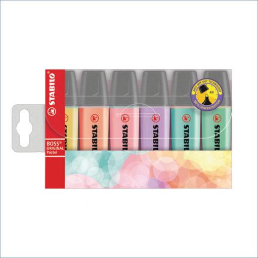 stabilo boss pastel highlighters 6 pack