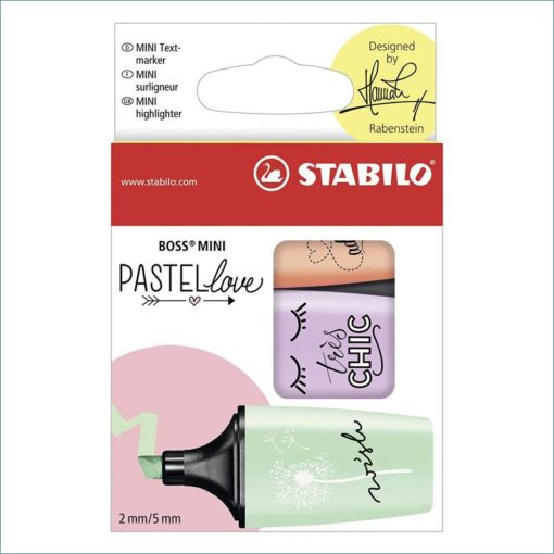 Stabilo Pastellove mini highlighters
