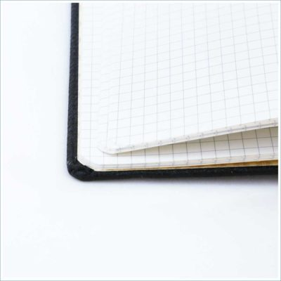 Dingbats black duck notebook - square grid