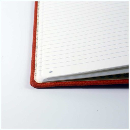 Dingbats orange tiger notebook - lined