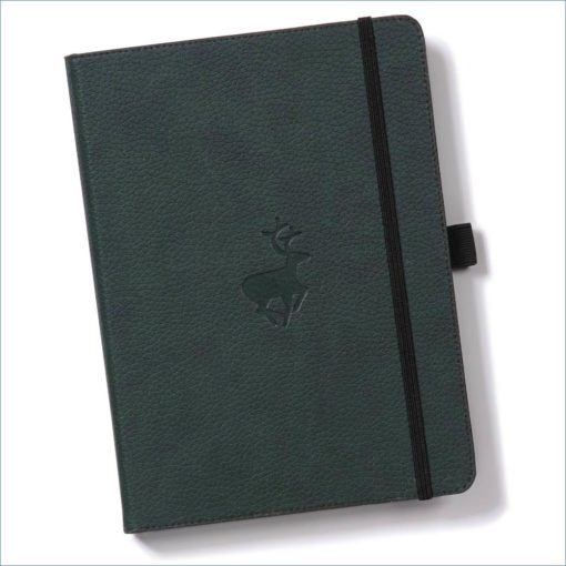 Dingbats deer notebook - green Wildlife