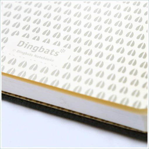 Dingbats deer notebook - inside cover