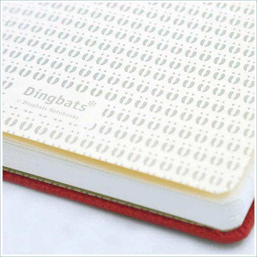 Dingbats Kangaraoo notebook - footprint