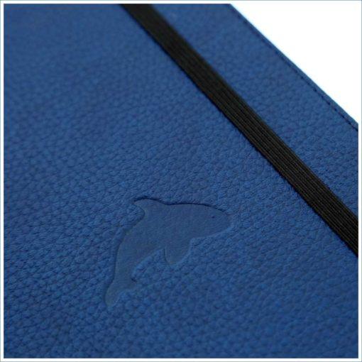 Dingbats whale notebook - whale deboss