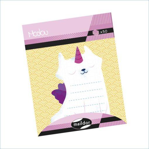 Cat Unicorn sticky notes