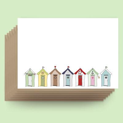 Postcards - Beach Huts