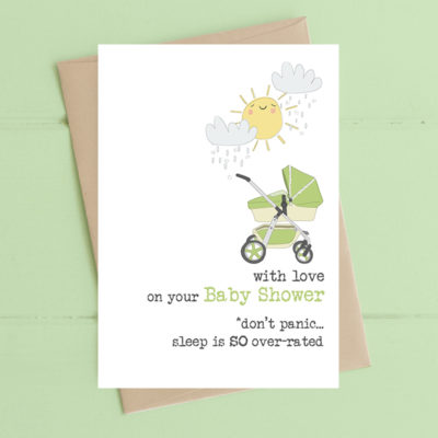 A poignant greetings card from Dandelion Stationery.