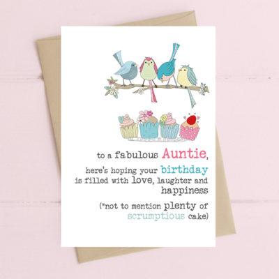 To Fabulous Auntie
