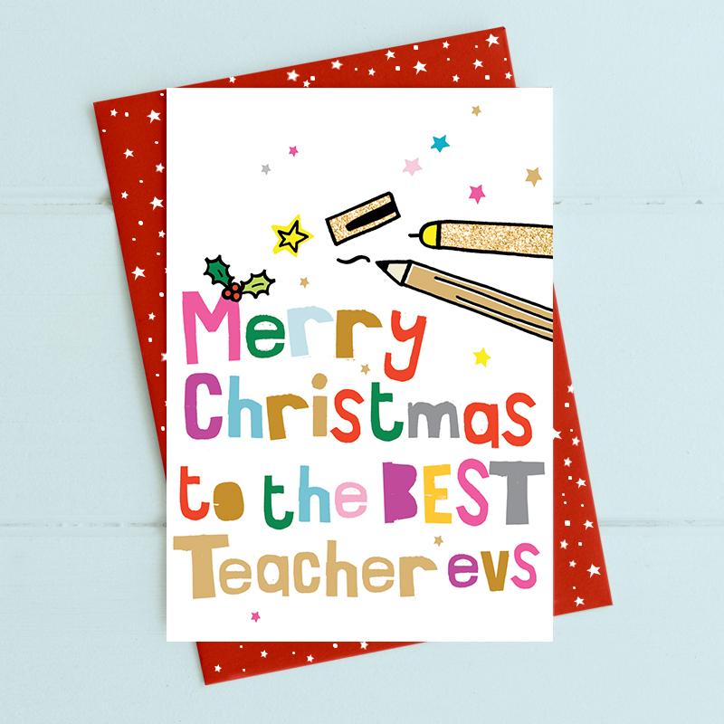 Christmas - Best Teacher Evs