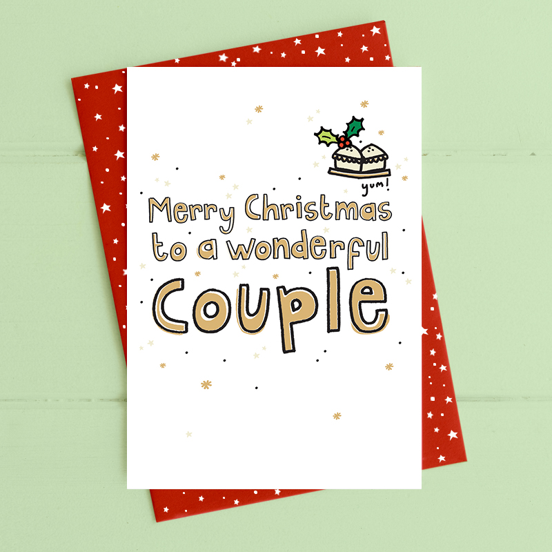 Christmas - wonderful couple