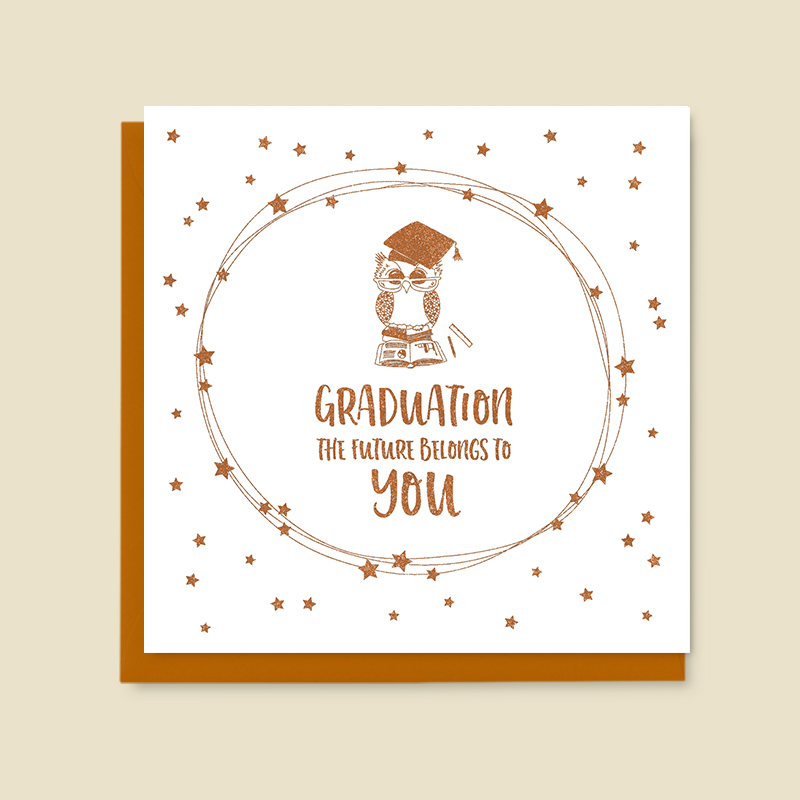 Graduation - the future belongs to you