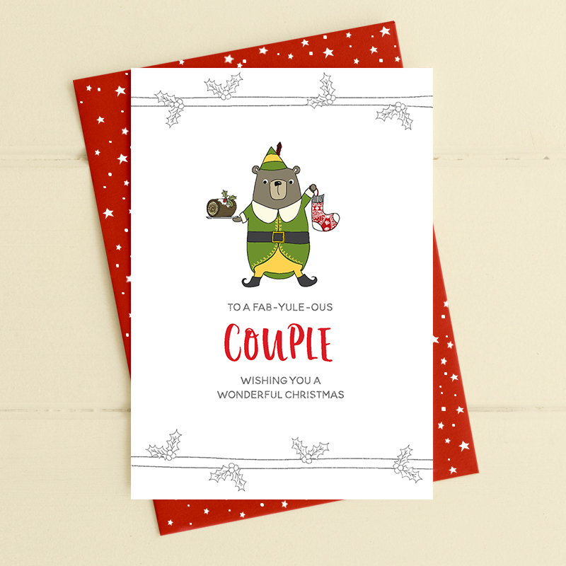 Fab-yule-ous Couple