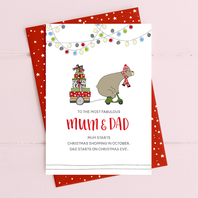 Mum & Dad - Christmas Shopping