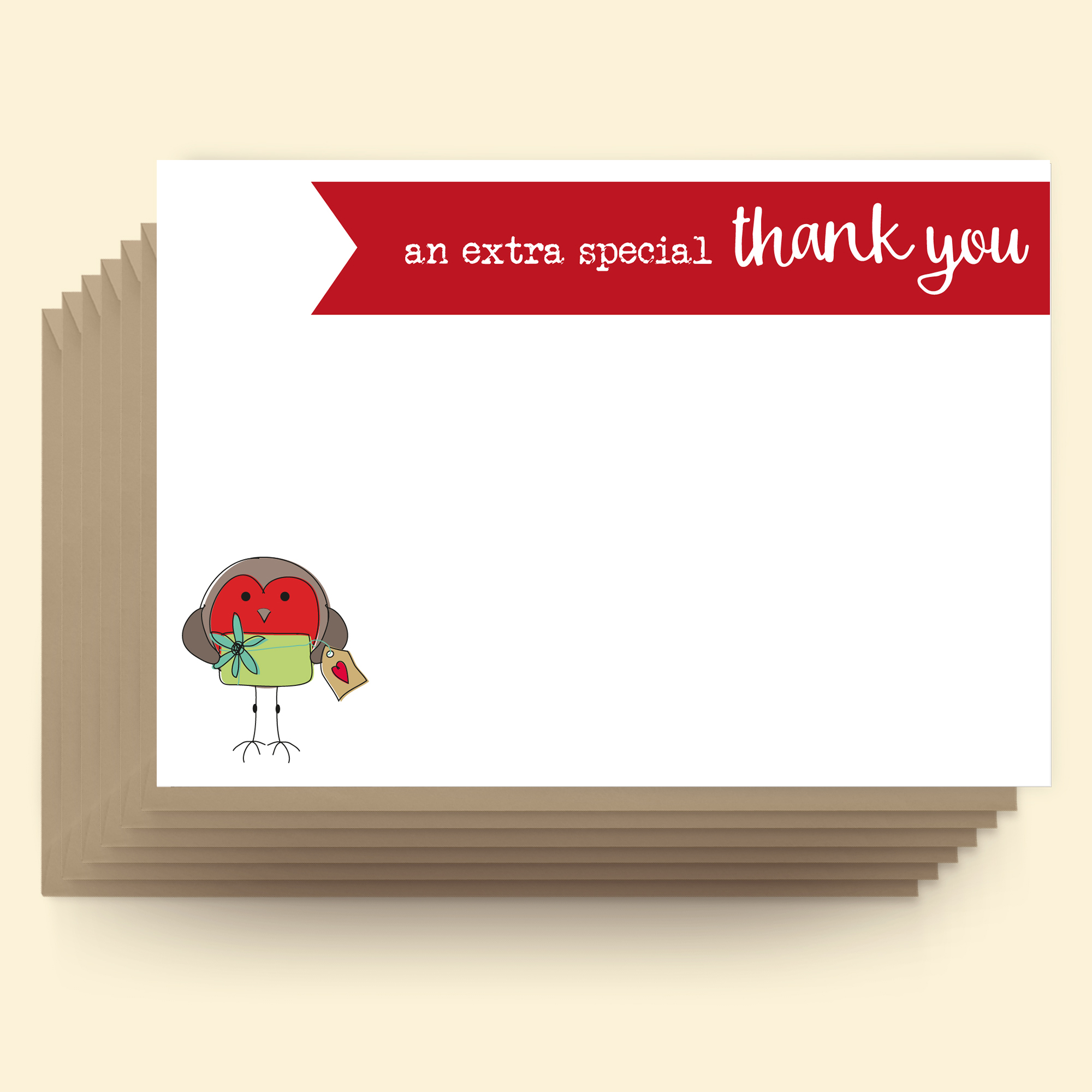 Postcards - Christmas - An extra special thank you