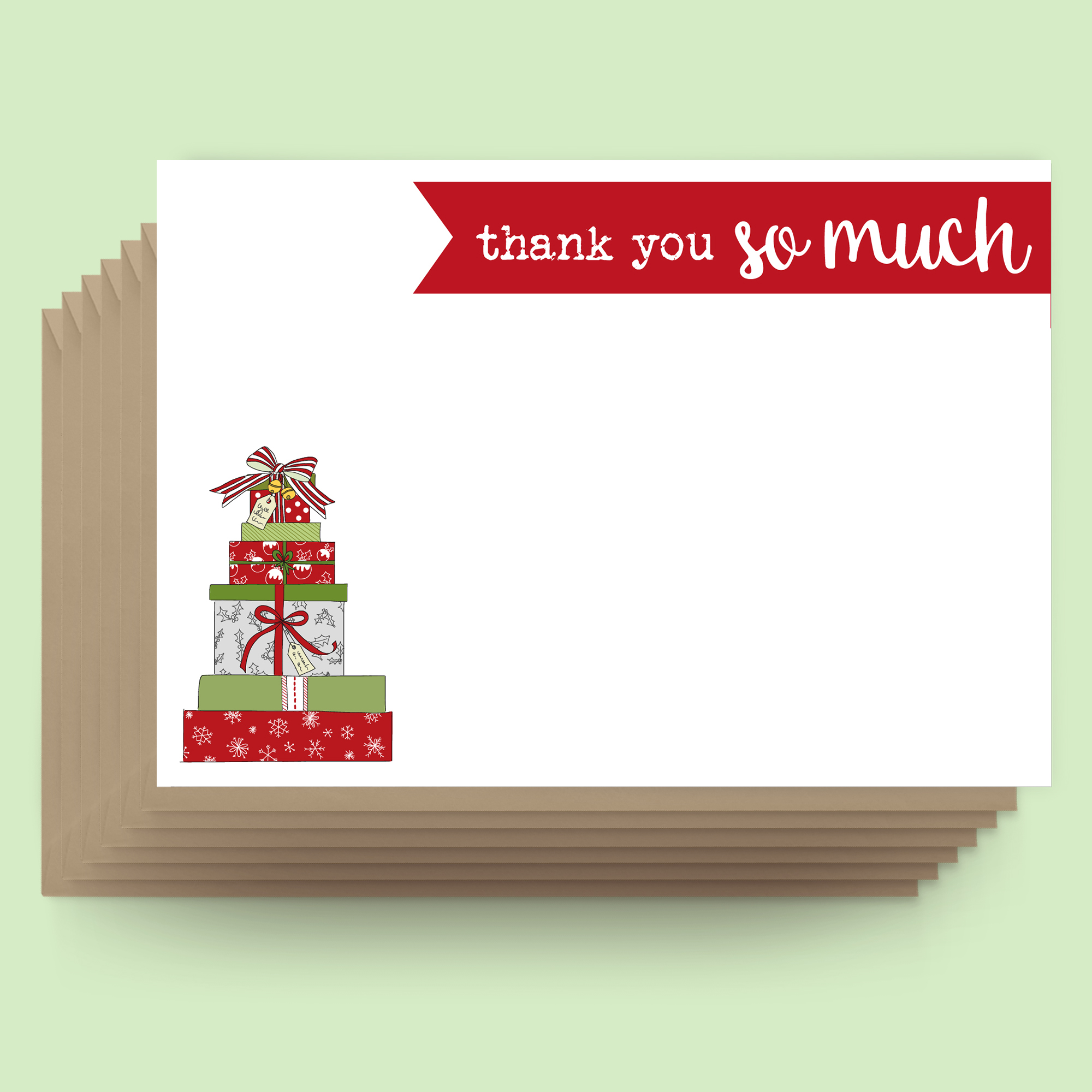 Postcards - Christmas - Thank you so much