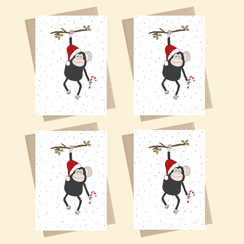 Mini Card Pack - Xmas - blank