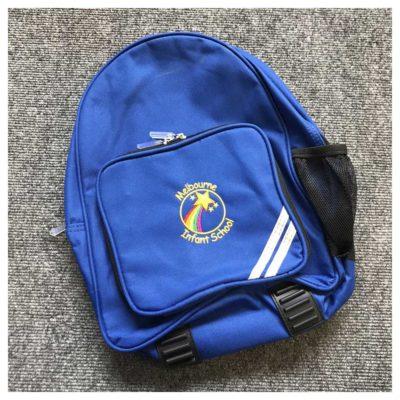 Melbourne Infant School rucksack