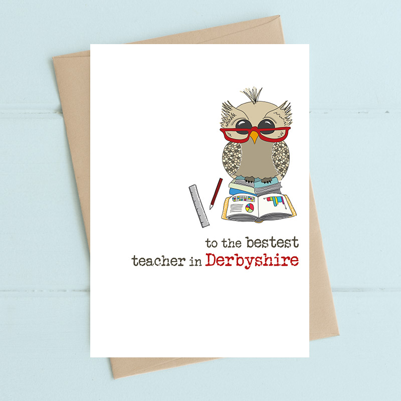 Bestest Teacher - personalised