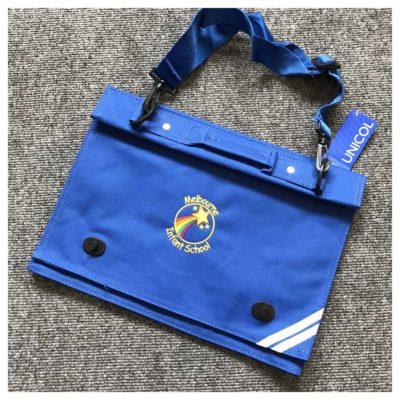 Melbourne Infant School book bag