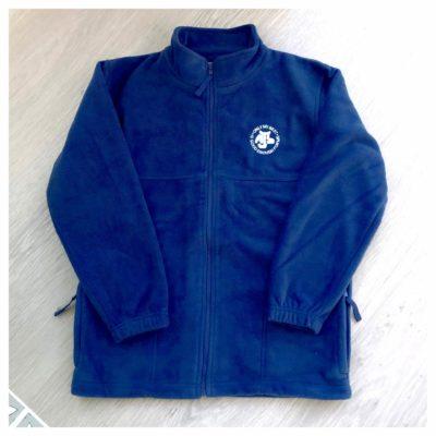 MJS blue polar fleece