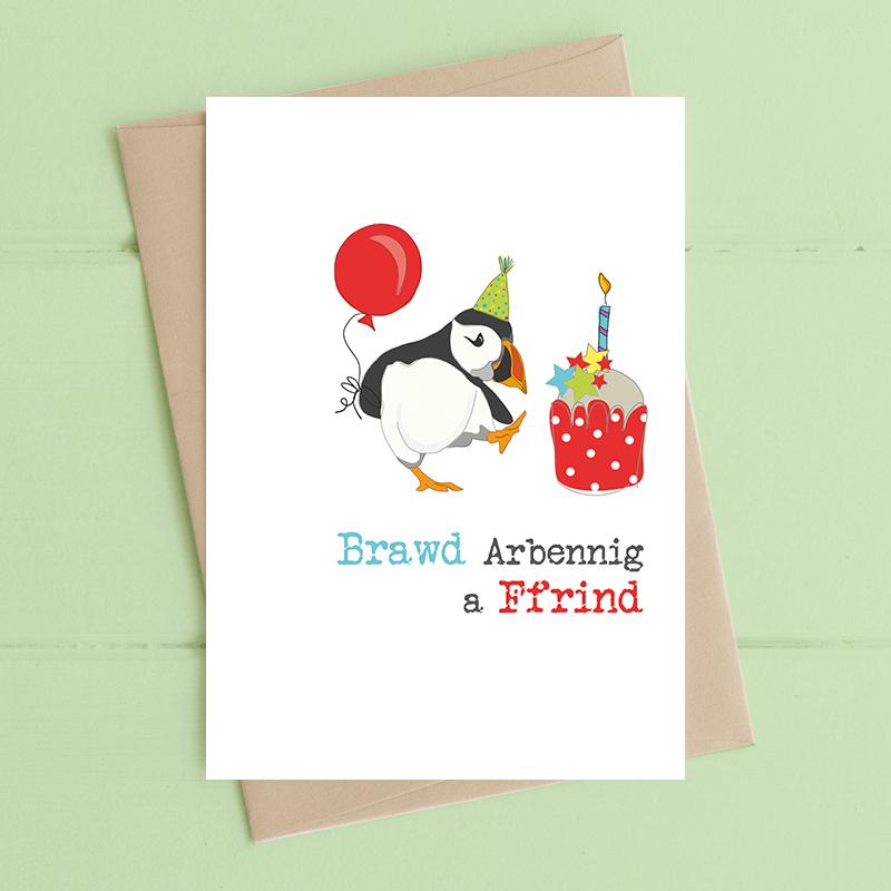 Brawd Arbennig a Ffrind  (Special Brother and Friend)