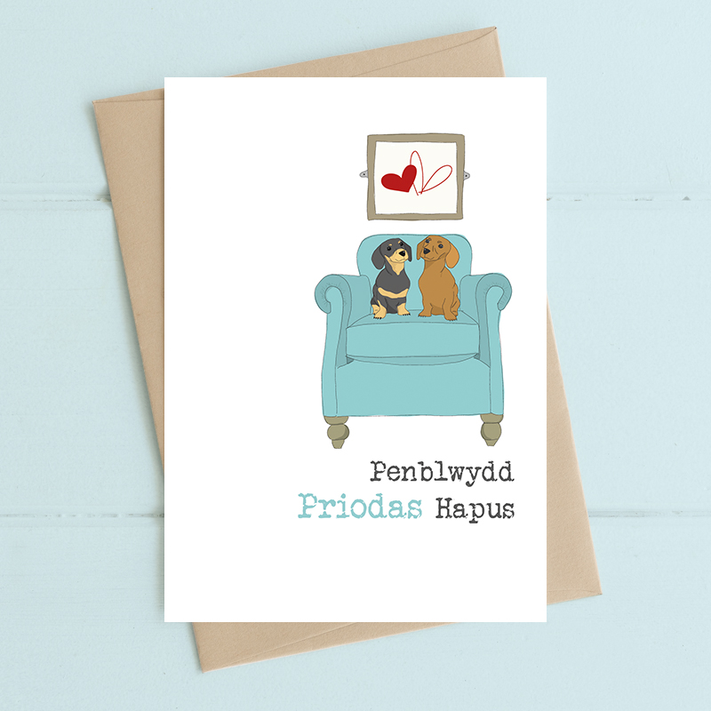Penblwydd Priodas Hapus (Wedding Anniversary)