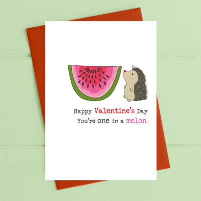 Valentines - One in a melon