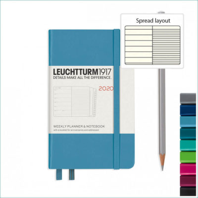 Leuchtturm 2020 A6 planner with notebook