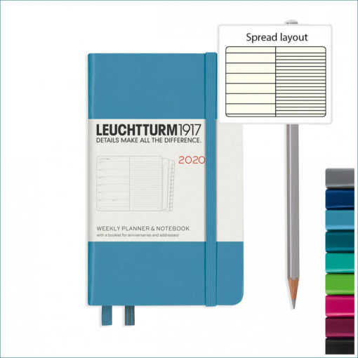 Leuchtturm 2020 A6 planner with notebook
