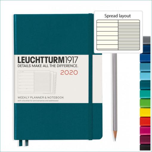 Leuchtturm1917 2020 A5 planner with notebook