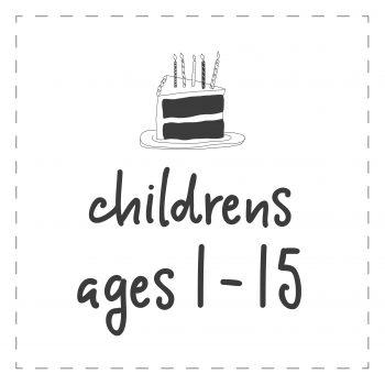 Ages 1-15