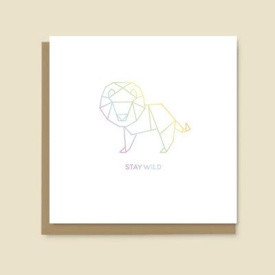 Stay Wild (lion)