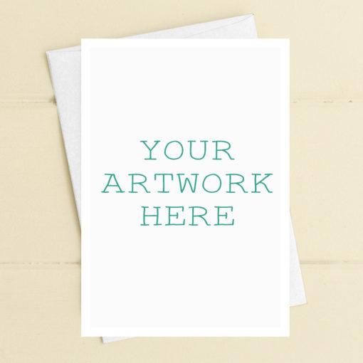 Bespoke printed greetings cards