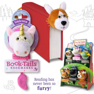 Book-tails bookmark -